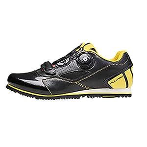 Shoes Zapatillas de Ciclismo Profesionales, para Hombres y Mujeres otoño e Invierno sin candado Transpirable Ciclismo Deportes Calzado Deportivo, ...