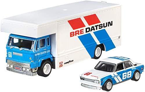 Hot Wheels FLF56-12 Datsun 510 Fleet Flyer weiss//blau-Team Transport 1:64 NEU°