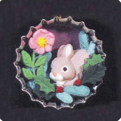 Used, Holiday Bunny 1994 Collectors Club Miniature Hallmark for sale  Delivered anywhere in USA