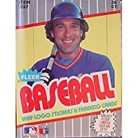 1989 Fleer Baseball Card Hobby Box