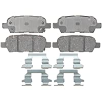 ACDelco 17D1288CH Professional Ceramic Rear Disc Brake Pad Set