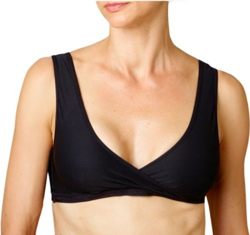 ve-N-Go Crossover Bra, Black, Large ()