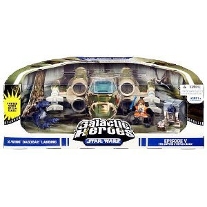 (Star Wars Galactic Heroes Cinema Scene - X-Wing)