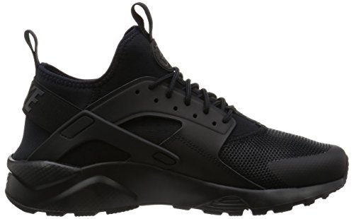 Nike Air Huarache Run Ultra, Zapatillas de Running para Hombre Negro (Black / Black-Black)