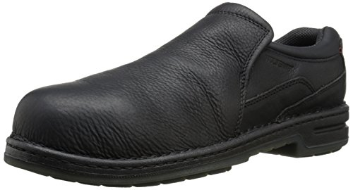 UPC 098772504833, Wolverine Men's Marcum Slip-On Steel-Toe EH Work Boot, Black, 10.5 M US