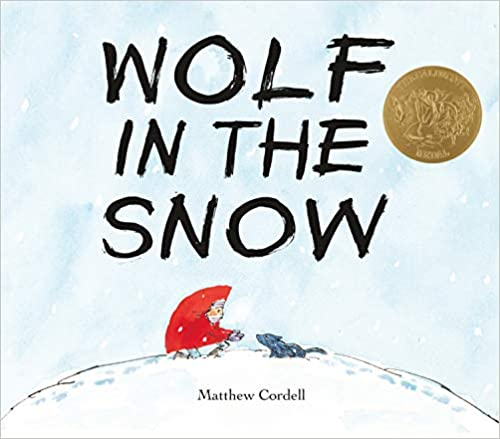 cover image, Wolf in the Snow