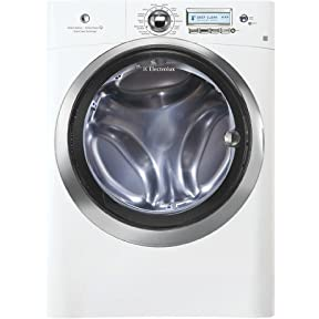 EWFLS70JIW Wave-Touch Series 4.42 cu. ft. Capacity Front Load Washer With 3 Individual Custom Options Automatic Water Level Adjustment Wave-Touch Controls Featuring Perfect Steam & In Island