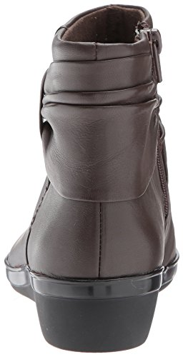 Brown CLARKS Everlay Women's Dark Boot Leather Mandy wqwRXT