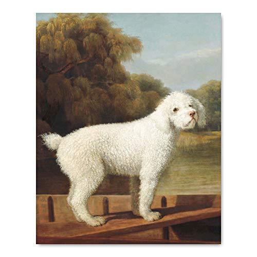 Dog Art (Painting Print, Museum Wall Decor) 18th Century