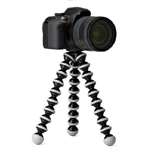 Teconica MKL69 Mini Gorilla Tripod Flexible Body with Mobile Attachment for DSLR, Action Cameras & Smartphones Easy to Carry Any Places Compatible with All Devices [Random Color]