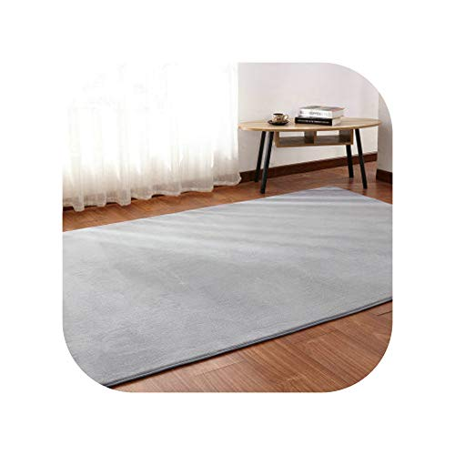 Living Room Coffee Table mat Plush Bedroom Full Bedside Blanket Rectangular Simple Modern Rug High-end Thick Coral Fleece Carpet,10,140x200cm