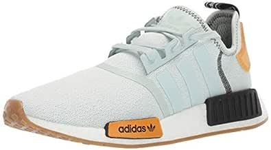 Adidas ORIGINALS Women's NMD_R1 Running Shoe, Vapour Green/Vapour Green/Bright Gold, 5 M US