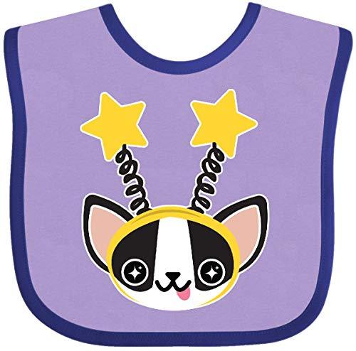 errier Stars Baby Bib Lavender and Purple 21af1 ()