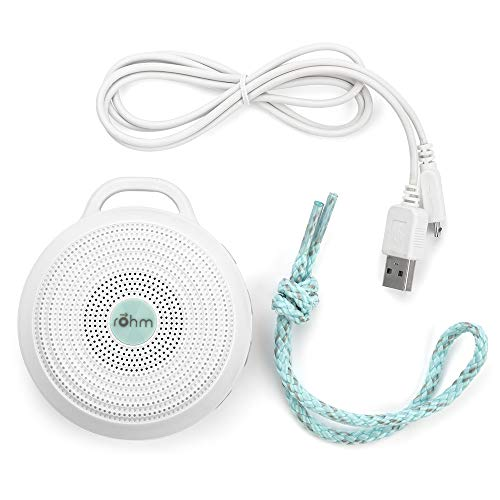 411lDvKwFxL - Marpac Rohm Portable White Noise Machine for Travel | 3 Soothing, Natural Sounds with Volume Control | Compact Sleep Therapy for Adults & Baby | USB Rechargeable | Lanyard for Easy Hanging