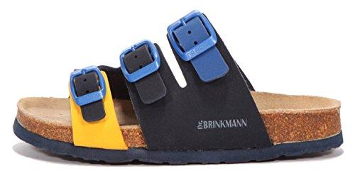 Dr. Brinkmann Kinder Pantolette Ozean/Multi