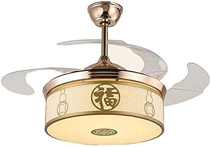 Ventilador de techo LED for el hogar Ventilador de techo luz de la ...