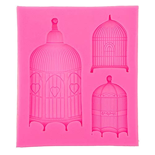 - SP Pansy Birdcage Design Fondant Silicone Cake Molds Tools Soap Chocolate Mould baking Bakeware