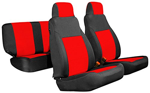 Brilliant Gearflag Jeep Wrangler Tj Neoprene Seat Cover Custom Fit Dailytribune Chair Design For Home Dailytribuneorg