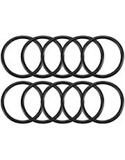uxcell Nitrile Rubber O-Rings 43mm OD 36mm ID 3.5mm Width, Metric Sealing Gasket, Pack of 10