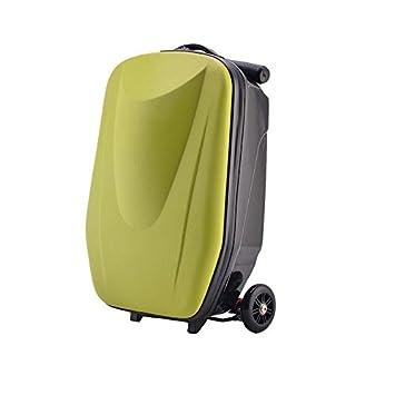 TBY Maletas, Maletas para Scooters, carros portaequipajes de Gran Capacidad de 20 Pulgadas con Capacidad de Carga 140 KG para la Escuela de Viajes, ...