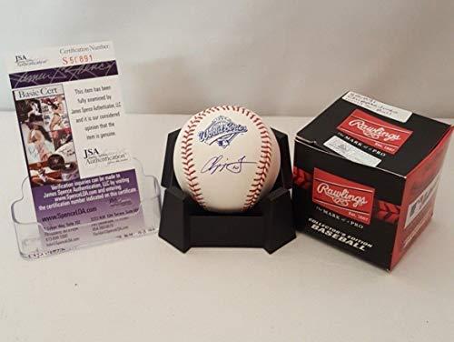 Chipper Jones Autographed Signed Memorabilia Atlanta Braves Official 1995 World Series Baseball S50891