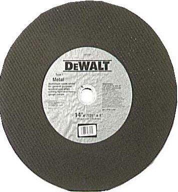 Dewalt DW8001 14 inch High Performance Metal Chop Saw Wheel
