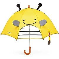 Skip Hop Zoobrella Little Kid Umbrella, Brooklyn Bee, One size