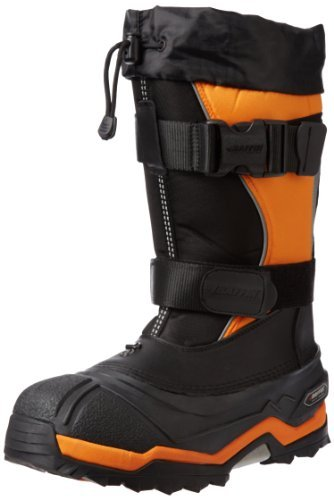 Baffin Men's Selkirk Snow Boot,Black/Expedition Gold,10 M US