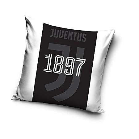 Federe Per Cuscini 40x40.Juventus F C Federa Per Cuscino Con Stampa Colori E Logo Della