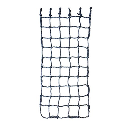 Aoneky 40'' x 80'' Climbing Cargo Net (Multi Color), Rope Climbing Toy for Kids Boys Ages 6 Year Old and up ()