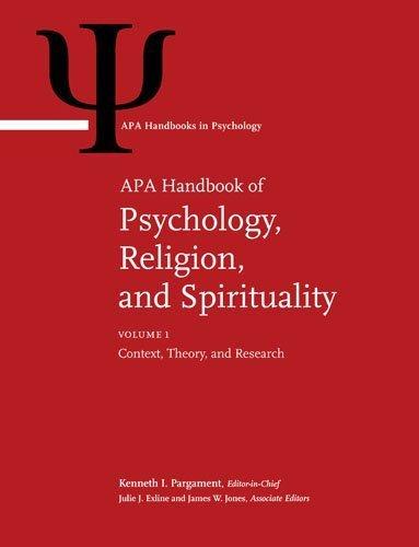 APA Handbook of Psychology, Religion, and Spirituality (Apa Handbooks in Psychology) - (2-Vol Set) by Kenneth I. Pargament (2013-01-14)