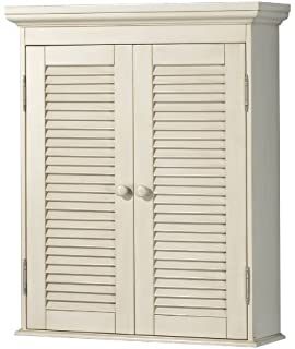 Ordinaire Pegasus CTAW2429 Cottage Wall Cabinet, Premium Antique White