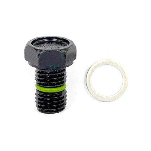 SMART-O R4 Oil Drain Plug M12x1.5mm - Engine oil Pan Protection Plug with Anti-leak & Anti-vibration function - Install Faster, Re-usable and (Engine Protection Pan)