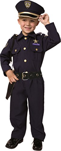 Award Winning Deluxe Police Dress Up Children's Costume Set -