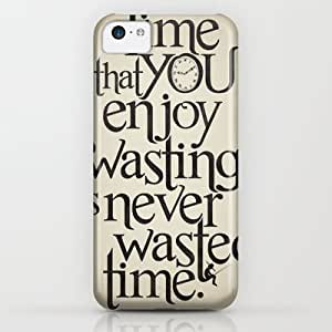 classic - Wasting Time iPhone & iphone 5c Case by Andrew Treherne