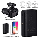 Camera External Battery Kit, Shotory 7800mA Portable Camera Power Bank for GoPro & DSLR Cameras, DV Camcorder, Smartphone, Riding and Other Mobile Devices