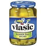 Vlasic Kosher Dill Spear Pickles 16 oz