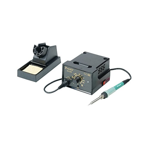 Pro'sKit SS-206E Temperature Controlled Soldering Station, Analog Display, AC 110V/220V