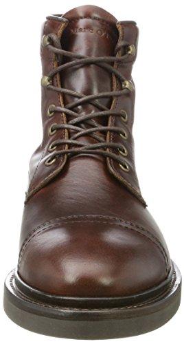 Combat 70824106301108 Marc Flatheel Brandy Lace O'Polo Herren Bootie Boots Braun TYxq1UHx
