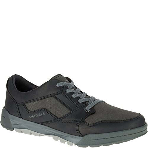 - Merrell Men's Berner Shift LACE Fashion Sneaker, Black, 10 M US