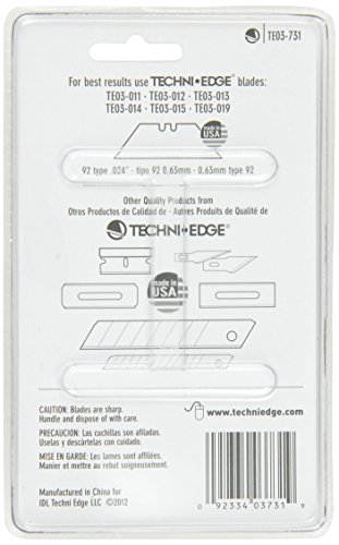 Techni-Edge-03-731-REVO-Folding-Utility-Knife-Black-or-Gray-Color-Varies