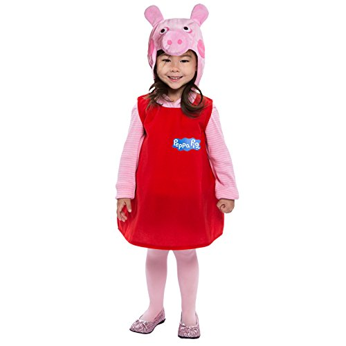 Pugs Wearing Halloween Costumes (Peppa Pig Dress Costume for Toddler)