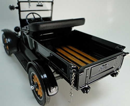 Ford Pickup Truck 1920s Antique 1 Vintage 24 Car 18 Rat Rod 12 F150 40 Pre Built 25 Metal Diecast GT Model T Racing Art A Sport Wagon Classic Carousel Black gt40 -