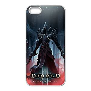Diablo iPhone5s Cell Phone Case White gift pp001_6300060