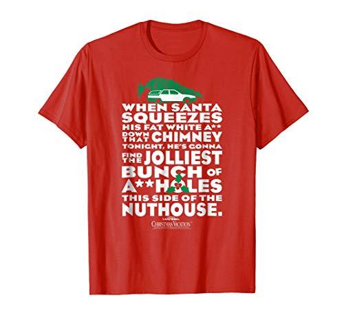 Christmas Vacation Jolliest Bunch T Shirt]()