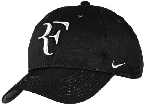 Mens Nike Premier RF Hybrid Adjustable Tennis Hat Black/White 371202-012 by NIKE