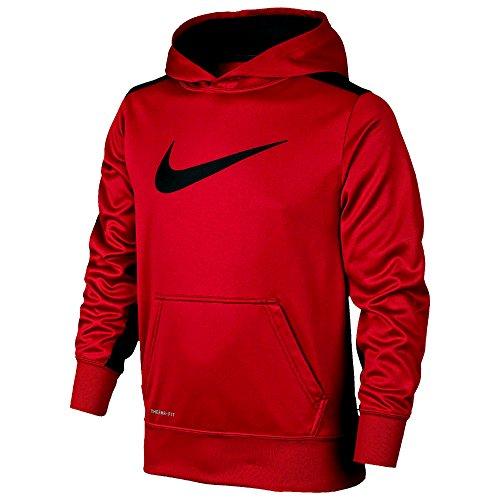Nike YOUTH Boys KO 3.0 Fleece Pullover Hoodie Sweatshirt