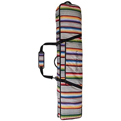 Burton Wheelie Gig Snowboard Bag, Bright Sinola Stripe, Size 156