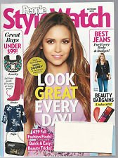 PEOPLE STYLE WATCH MAGAZINE October 2013 NINA DOBREV Best Jeans Fashion - Watch Peoples Style