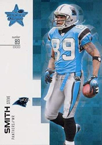 2007 Leaf Rookies and Stars #31 Steve Smith Panthers NFL Football Card - Football Smith Nfl Steve